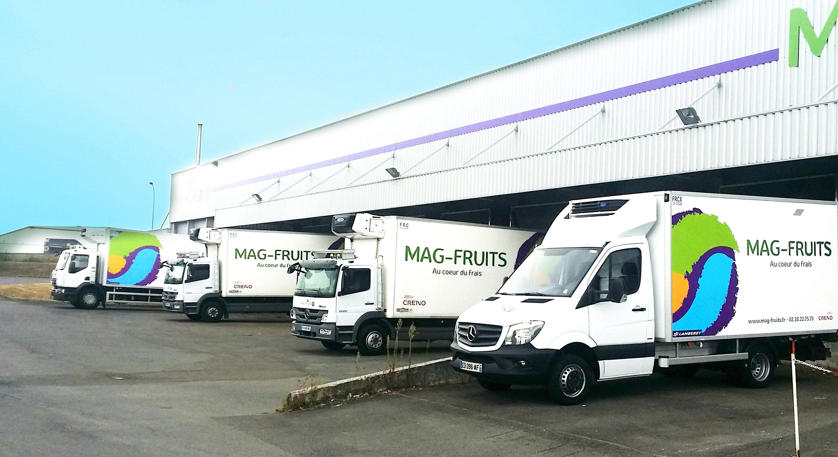 Entrepôt MAG-FRUITS - Ingré